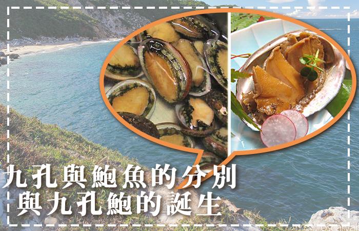 【海口味課堂】九孔與鮑魚的分別,以及九孔鮑的誕生